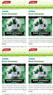 Win a Signed Copy Each of Angie's Book – top 50 Indoor Plants and How Not to Kill Them