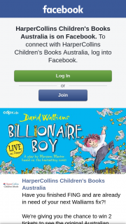 Win 2 Tickets to See The Original Australian Stage Adaptation of David Walliams' Bestselling Billionaire Boy In Your Nearest Touring City Plus a Copy of The Book