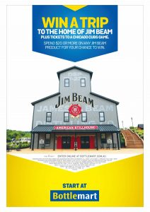 Beam Suntory – Win a trip for 2 to Chicago and Louisville plus more