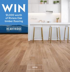 Carpet Court – Win $5,000 worth of Riviera Oak timber flooring