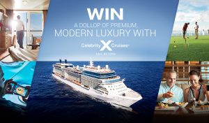 Network Ten – MasterChef – Win a cruise for 2 for 12 nights to New Zealand valued at over $7,700