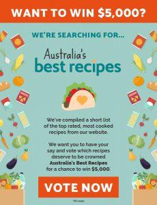 News Corp – Australia's Best Recipes – Win $5,000