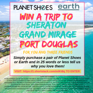 Planet Shoes – Win a trip for 4 to Port Douglas