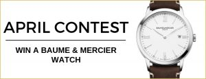 WorldTempus – Win a Baume & Mercier Classima watch valued at CHF 990