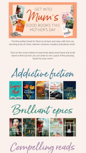 Allen & Unwin – Win a Mother's Day Book Pack of Your Top Picks