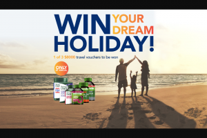 Amcal Natures own Cenovis – Win 1 of 3 $8000 Travel Vouchers