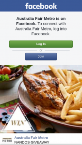 Australia Fair Metro – Win a $50 Nando's Voucher Full of Peri-Peri Goodness