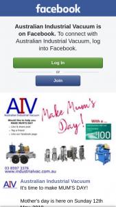 Australian Industrial Vacuum – Win a $100 Coles/myer Voucher