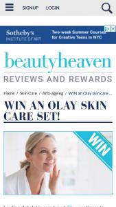 Beauty Heaven – Win an Olay Skin Care Set