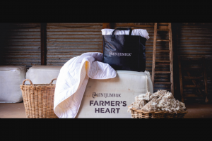 Brand SA – The Chance to Cosy Up In a King Sized Farmer's Heart Australian Wool Quilt (prize valued at $699)