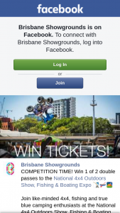 Brisbane Showgrounds – Win 1 of 2 Double Passes to The National 4×4 Outdoors Show