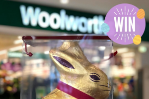 Calamvale Central Shopping Centre – Win a 1kg Lindt Bunny Brisbane Residents Must Collect