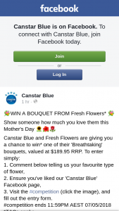 Canstar Blue – Win a Bouquet From Fresh Flowers (prize valued at $189.95)