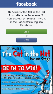 Cat in the Hat – 4 of The Following Prize Packages