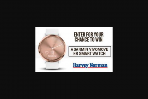FIVEaa 2 x Vivomove HR Smart Watches – Win 1 of 2 Vivomove Hr Smart Watch Thanks to Harvey Norman (prize valued at $298)