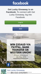 Get Lucky – Win $50 Aud Paypal Western Union Or Bank Transfer