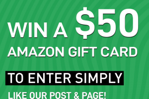 $50 Gift Card – Win a $50 Amazon Gift Card From Sitelist (prize valued at $50)