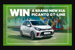 Groupon – Win a Brand New Kia Picanto Gt-Line (prize valued at $17,290)