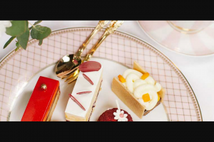 High Tea Society – Win a Luxurious Overnight Accommodation In a Grand Deluxe King Room and High Tea Experience at Grand Hyatt Melbourne for Two People