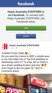 Hoyts Cinemas Stafford – Win a Double Pass to Girls Night Out's Top End Wedding