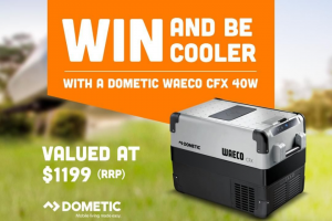 ingeniaholidays We've teamed up with our friends at @Dometic to giveaway a CFX 40W – Win this Amazing Fridge/freezer Worth $1199 RRP (prize valued at $1,199)