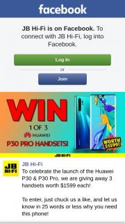 JB HiFi – 3 Handsets Worth $1599 Each