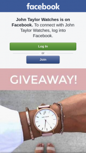 John Taylor Watches – Win a $100 Voucher to Wwwjohntaylorwatchescom