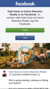 Kate Goan at Cairns Beaches Realty – Win a $100 Bcf Gift Card