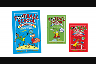 KZone – Win a FooTBall School Book Pack