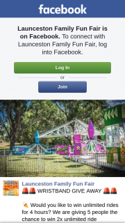 Launceston Family Fun Fair – Win 2x Unlimited Free Ride WrisTBands