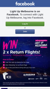 Light Up Melbourne – Win 2 X Economy Flights to Chengdu on Sichuan Airlines