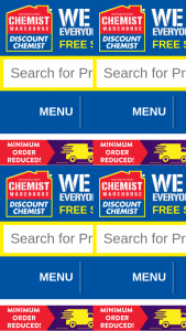 Maxigesic – Chemist Warehouse App – Form to Enter (prize valued at $28,000)