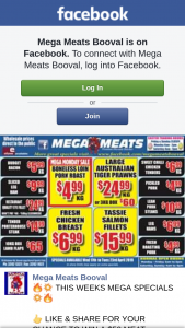 Mega Meats Booval – Win a $50 Meat Voucher winner (prize valued at $50)