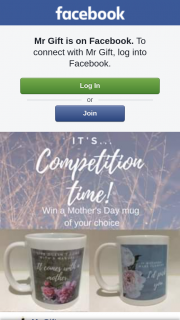 Mr Gift – Win a Gorgeous Mother's Day Mug of Your Choice (prize valued at $25)