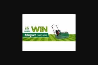 Munns – Win a Masport 400rr Cylinder Mower 2019 (prize valued at $1,699)