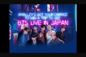 Nova FM Smallzy's sending you to see BTS Live in Japan – Competition