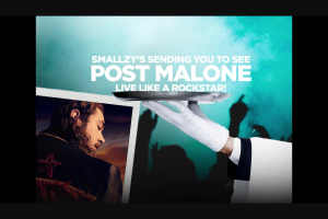 Nova FM Smallzy's sending you to see Post Malone Live – Competition