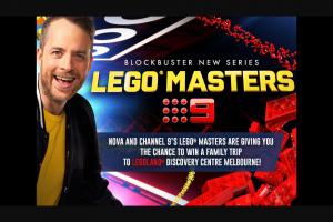 Nova 106.9FM – Win a Family Trip to Legoland® Discovery Centre Melbourne