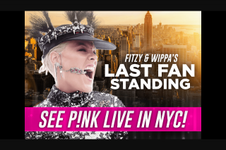 Nova FM – Win Your Way to See Pnk In Nyc