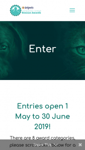 Pets4Life & Bayer – Jetpets Rescue Awards/ Enter your Animal Rescue story to – for Categories 1 – 7 As Outlined In The Terms and Conditions (prize valued at $200)