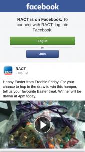 RACT – Win this Hamper