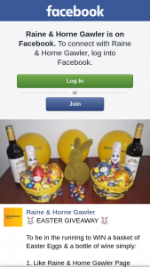 Raine & Horne Gawler – Win a Basket of Easter Eggs & a Bottle of Wine Simply