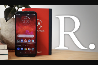 Reckoner – Win a Moto Z3 Play Smartphone With Gamepad & Polaroid Moto Mods