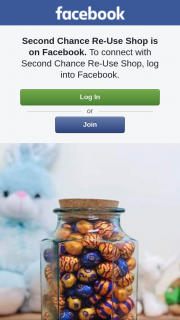 Second Chance Re-Use Shop – Win this Entire Jar of Chocolate