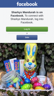 Sharkys Mandurah – Win this Basket Full of Easter Chocolates Bottle of Grandstand Shiraz  and $100 Voucher to Spend With Us