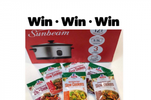 Slow Cooker Central – Win a Fantastic Slow Cooking Prize Pack (prize valued at $140)