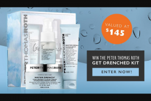 Smooth FM – Win a Peter Thomas Roth Get Drenched Kit Valued at $145.00. (prize valued at $145)