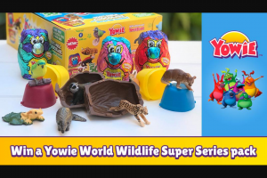 Smooth FM – Win a Yowie World Wildlife Super Series Pack