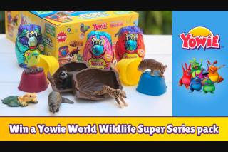 Smooth FM – Win a Yowie World Wildlife Super Series Pack