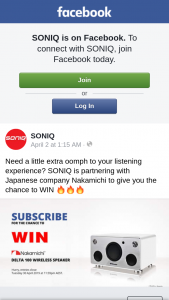 SONIQ – Win a Trip to Adelaide Worth $4300 (prize valued at $449)